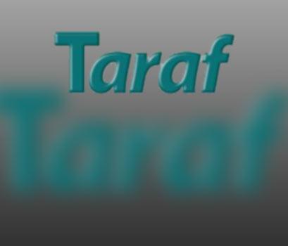 TARAF BU KONUDA DA TARAF!
