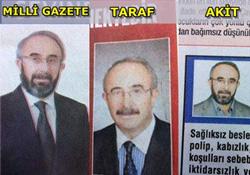 VAKİT'E BAŞKA, TARAF'A BAŞKA FOTOĞRAF...