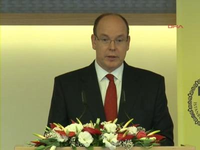 Monaco Prensi II. Albert, İTO'da konuştu
