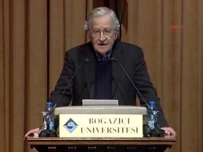 """Noam Chomsky:""""Hrant Dink insan hakları' konferansında konuştu."""""""
