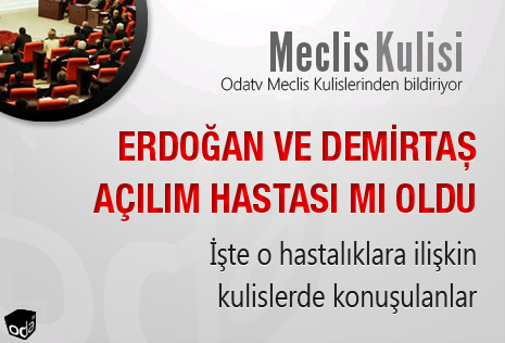 Erdoğan ve Demirtaş açılım hastası mı oldu