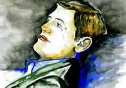 Cezaevine asker olarak girdi, ressam olarak çıktı