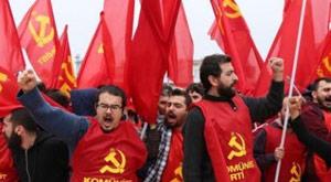 Taksim'e çıkan komünistlere tahliye