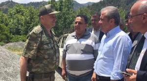 "AKP'li vekilin karşısında ""hazır ol"""