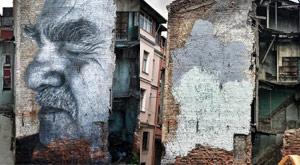 Tüm dünyada çizdi, İstanbul'da zabıtaya tosladı