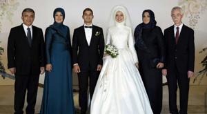 İşte Gül'ün düğününden kareler