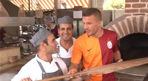 Podolski'yi hiç böyle görmediniz