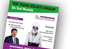 HDP'den Şeyh Said için mevlüd