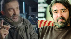 İki yazar iki yönetmen için birbirine girdi