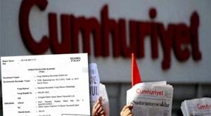 Cumhuriyet Gazetesi'ne yeni kıskaç