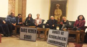 Meclis'in muhalefet kulisinde eylem