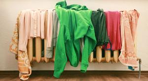 Çamaşırı evde mi balkonda mı kurutmalı