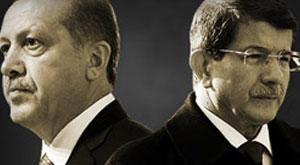 Erdoğan ve Davutoğlu ters köşe oldu