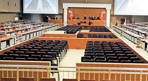 Bu mahkeme salonu Erdoğan'ı yargılamak için hazırlandı