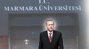 Marmara Üniversitesi'nden Erdoğan açıklaması: Gizli