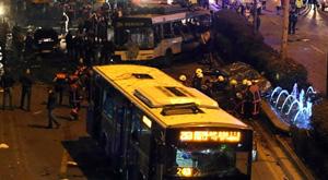 Kızılay bombasında iki polis açığa alındı