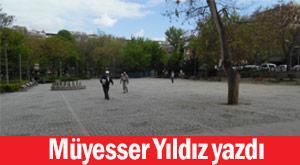 Ankara'da polis orayı terk etti