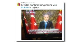 Erdoğan'ın hedefinde yine Leman vardı