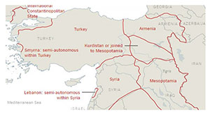 100 yıl önce yırttığımız haritayı önümüze koydular
