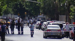 Vezneciler'de bomba bulundu