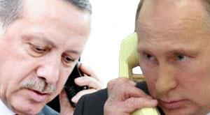 Erdoğan'la Putin arasında ilk temas