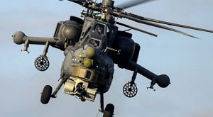 Rus helikopteri Suriye'de vuruldu