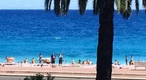 Plajlardan haşemalı kadınlar böyle çıkarıldı