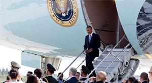 """Çin'den """"Obama da kim"""" dedirten karşılama"""