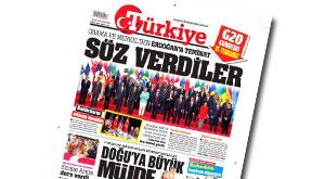 Türkiye gazetesi kiminle anlaştı