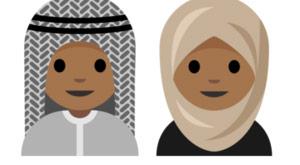 Başörtülü emoji kampanyası