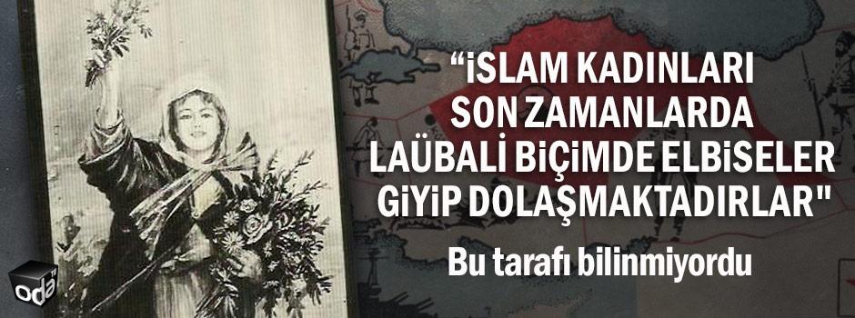 """""""İslam kadınları son zamanlarda laübali biçimde elbiseler giyip dolaşmaktadırlar"""""""