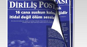 """Yandaş gazete, medyanın """"Ciner"""" sessizliğine manşetten isyan etti"""