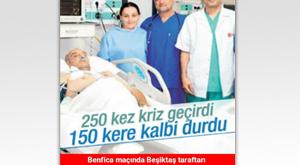Beşiktaş geri döndü sosyal medya karıştı