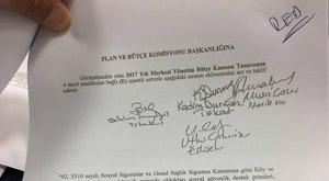 AKP öyle bir yasa teklifini reddetti ki...