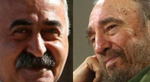 Evrensel yazarı Fidel'e sövdü