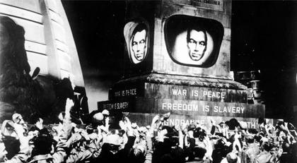"""Trump'ın ardından """"1984"""" Broadway'de"""