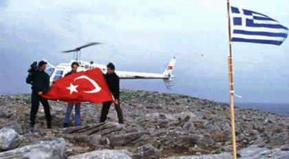 Yıllar önce Kardak'a Türk bayrağı diken gazeteci Yunanistan'a gitmek istedi