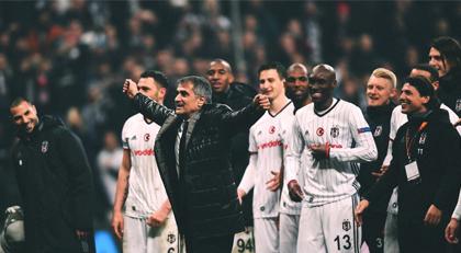 Beşiktaş Sirtaki yaptı