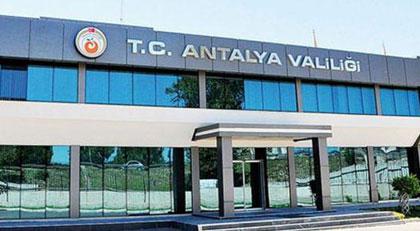 Antalya'da bir yasak daha
