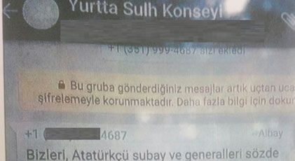 """Kayseri operasyonunun altından """"Yurtta Sulh Konseyi"""" çıktı"""