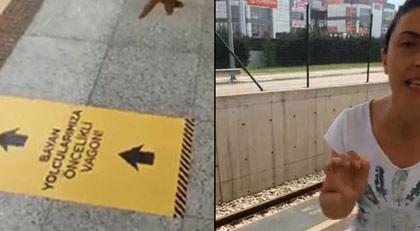 Metroda kadın vagonu