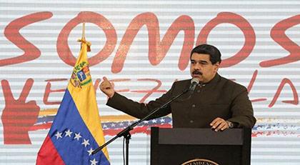 """""""Burnunuzu Venezuela'ya sokmayın"""""""