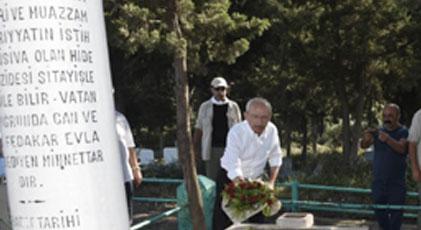 Kılıçdaroğlu kimin mezarını ziyaret etti