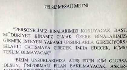 İşte Ankara polisine 1 yıl önce 15 Temmuz'da verilen o emir