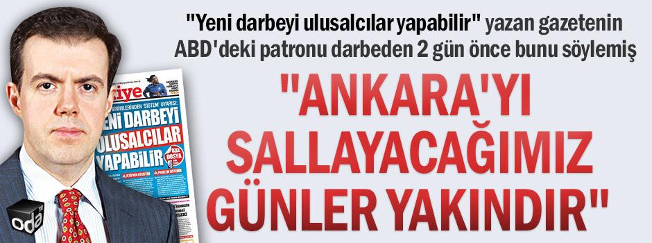 """""""Ankara'yı sallayacağımız günler yakındır"""""""