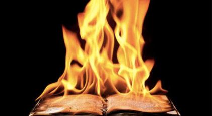 Milyonlarca kitap imha edildi