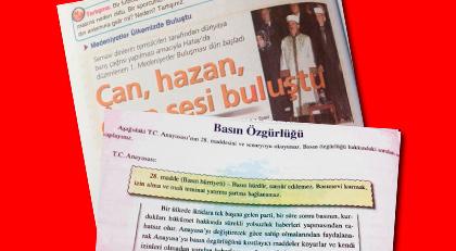 Ders kitaplarında FETÖ propagandaları