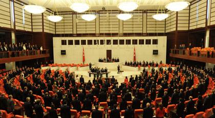 Meclis'te tarihi toplantı