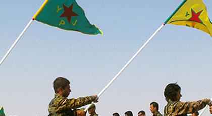 Rusya YPG'yi vurdu ortalık karıştı