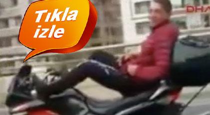"""Ankara'da """"pes"""" dedirten görüntü"""